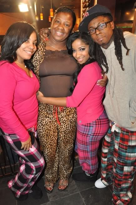 MelBarchie: Ant... Lil Waynes Mom