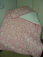 Girls Damask Quilted Blanket