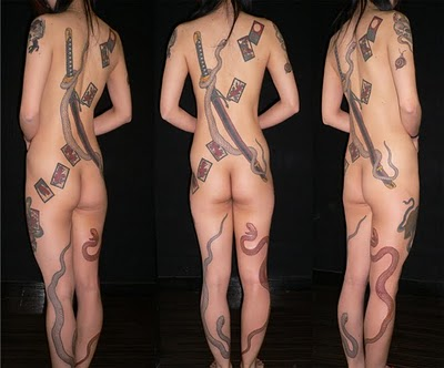 Japanese Samurai Tattoo Pictures