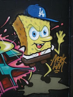 Spongebob Graffiti