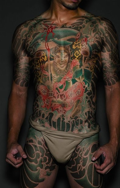Yakuza Japanese Tattoo Style. Posted by admin on 4:40 AM