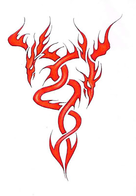 between an okay tattoo and a great tattoo. Tribal Flame Tattoos Designs