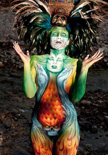 Body Painting is Adored in The World