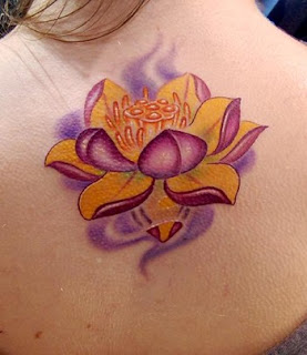 Lotus Flower Tattoo Ideas