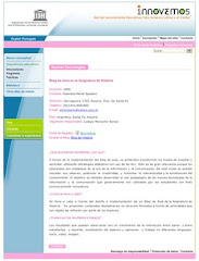 Publicación en Red Latinoamericana Innovemos.