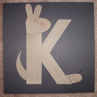 Craft Ideas Letter on Kangaroos And Koalas   Enjoy These Ideas From Our Alphabet Adventures