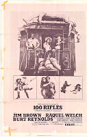 100 Rifles poster
