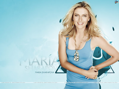 Sharapova on Maria Sharapova 2010 Calendar Will Be Published After Sometime Later