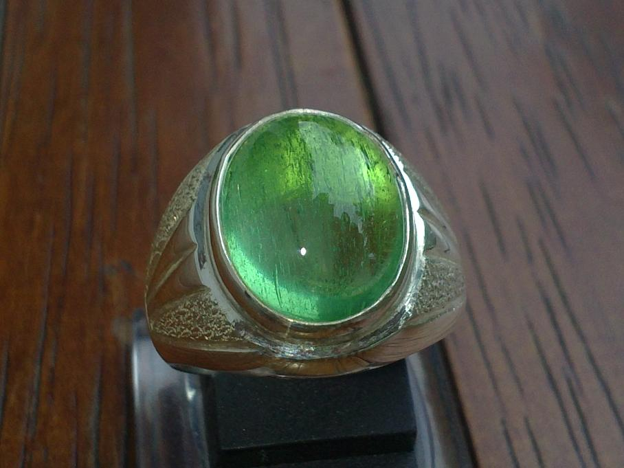 Green Obsidian Borneo Emerald Gemstone Emerald