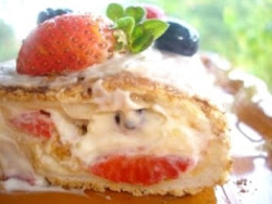 Torta Merengada de Frutos Silvestres