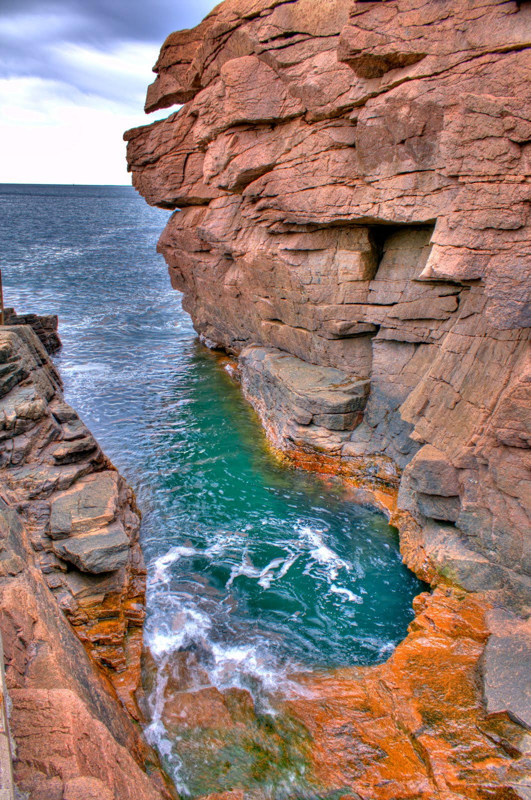 Project 52 learning to shoot acadia national park for Thunder hole acadia