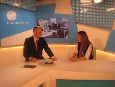 "Programa ""La Lupa"" de Popular TV con Fernando de Haro en mn 38"