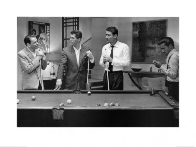 Ilovedinomartin the rat pack pool poster for Table 9 movie