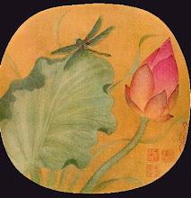 loto y libélula