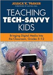 Image: Book cover: Teaching Tech-Savvy Kids