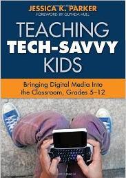 Image: Book cover: Teaching Tech-Savvy Kids