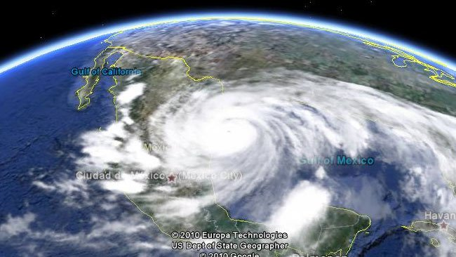 Google Earth integrates meteorology - Finally we will know if it will rain or not rain