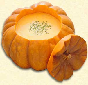 Know how to make a low fat pumpkin soup