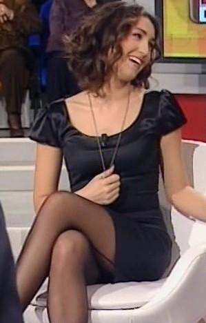 CATERINA BALIVO..calze con filetto dietro