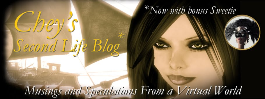 Chey's Second Life Blog