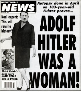 hitler was a woman weekly world news