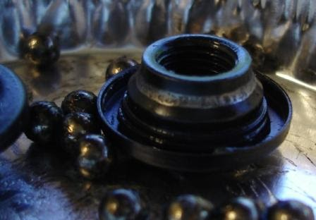 Drill Out Hub Bolts  Suzuki Xl