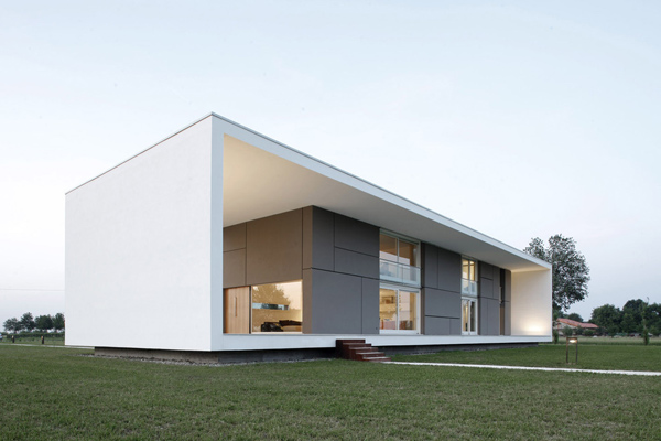 italian home architecture minimalist house
