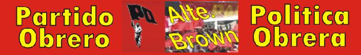 Partido Obrero de Alte. Brown