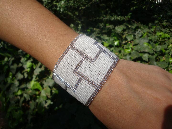 Pulseras tejidas con telar - Imagui