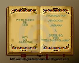 Premio Libro de Oro Junio 2009