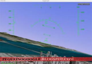 google, earth, voo, simulador, flight, simulator, microsoft, universo, internautam avião, f16, viper, srss, 4,
