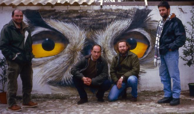 En GREFA con Joaquín Gutiérrez Acha y Ernesto Álvarez