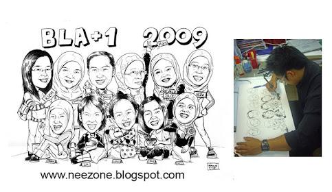 karikatur Beramai