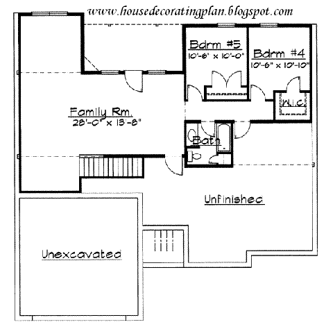 House Decorating Plan,House Decorating: Traditional style house plans