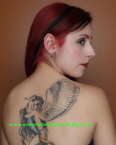 Female angel tattoo designs read about dragon tattoos for women best women