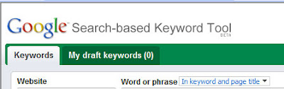 Barcelona SEO - Search results Keyword tool