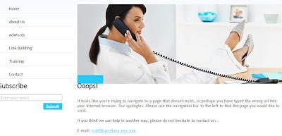 Barcelona SEO - Custom 404 error page