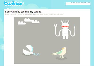 Barcelona SEO - Twitter Error Page