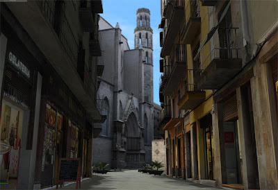Barcelona streets in 3D - Barcelona Sights Blog
