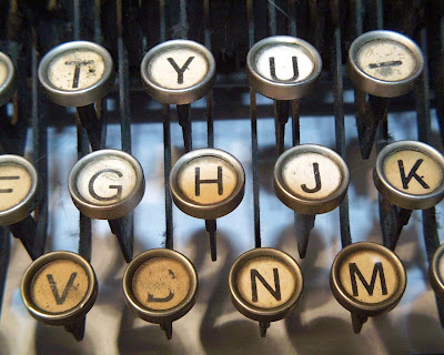 Typewriter keys - Barcelona SEO blog