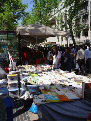 Book Stalls on Las Ramblas