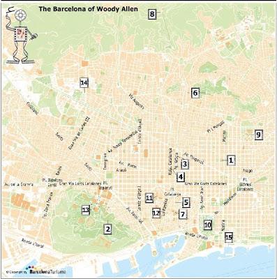Woody Allen Walk - Barcelonasights Blog