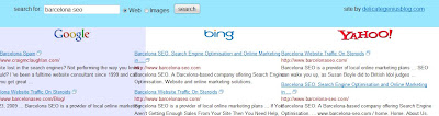 Blind Search Revealed - Barcelona SEO