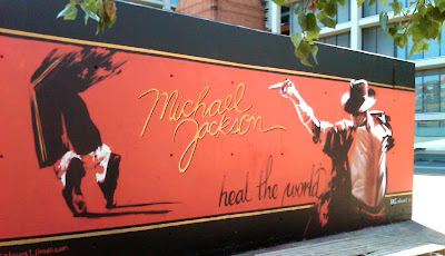 Michael Jackson Graffiti - Barcelona Sights
