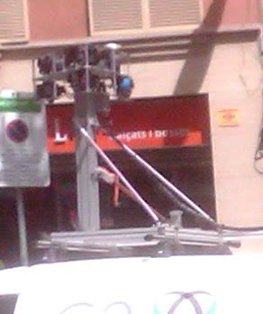 Camera Car - Barcelona Sights
