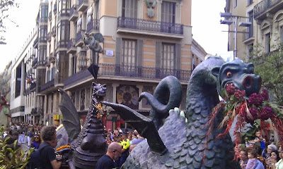His and Hers Dragons - Barcelona Sights Blog