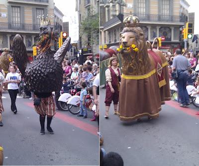 Ceremonial Eagle - Barcelona Sights