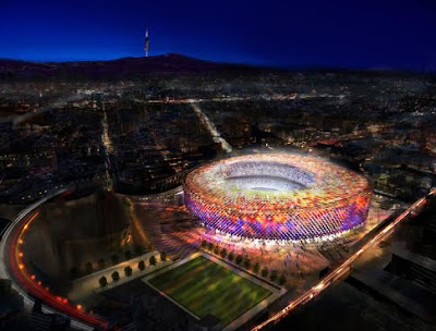 New Camp Nou - Barcelona Sights blog