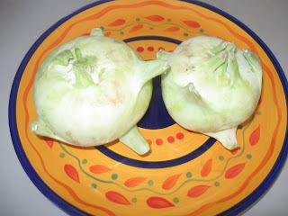 Noolkool (Kohlrabi) is a Vegetable