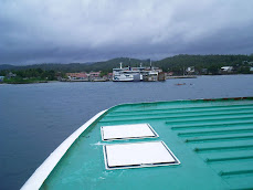 Approaching the port of Allen in Samar -The Philippines November 2007